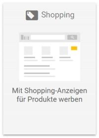 Google Ads Betreuung Shopping