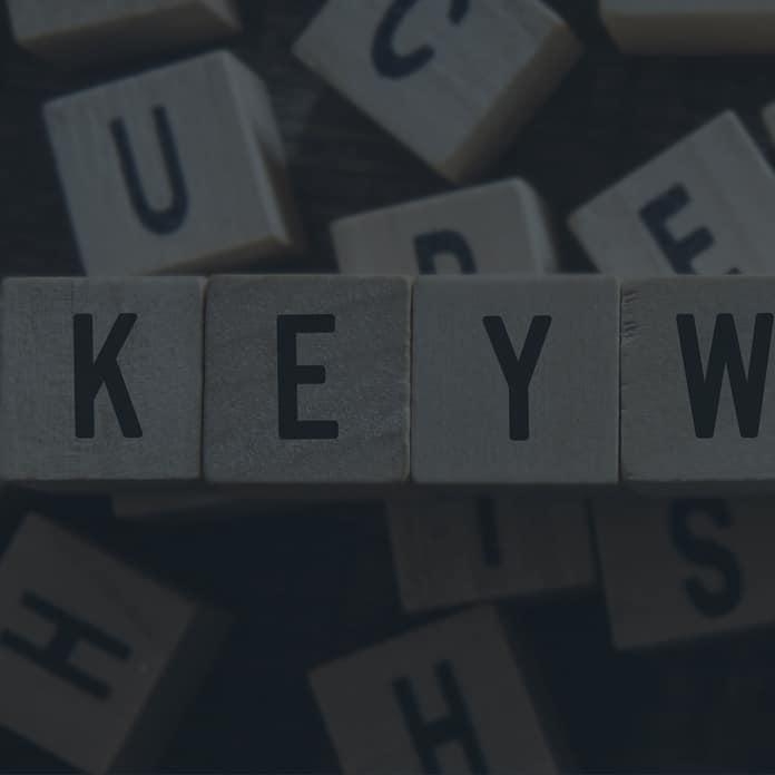 auszuschließende Keywords