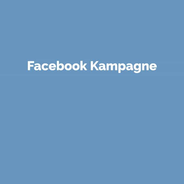 Facebook Kampagne | Online Marketing Glossar | perfecttraffic.de