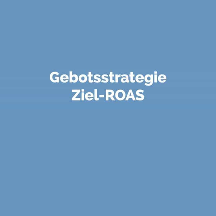Gebotsstrategie Ziel-ROAS | Online Glossar | perfecttraffic.de