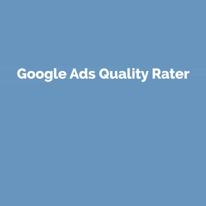Google Ads Quality Rater | Online Glossar | perfecttraffic.de