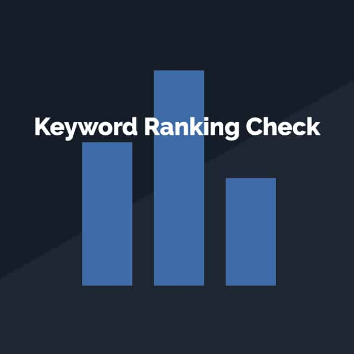 Keyword Ranking Check