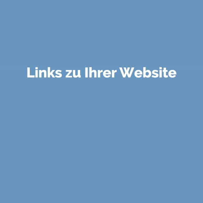Links zu Ihrer Website | Online Glossar | perfecttraffic.de