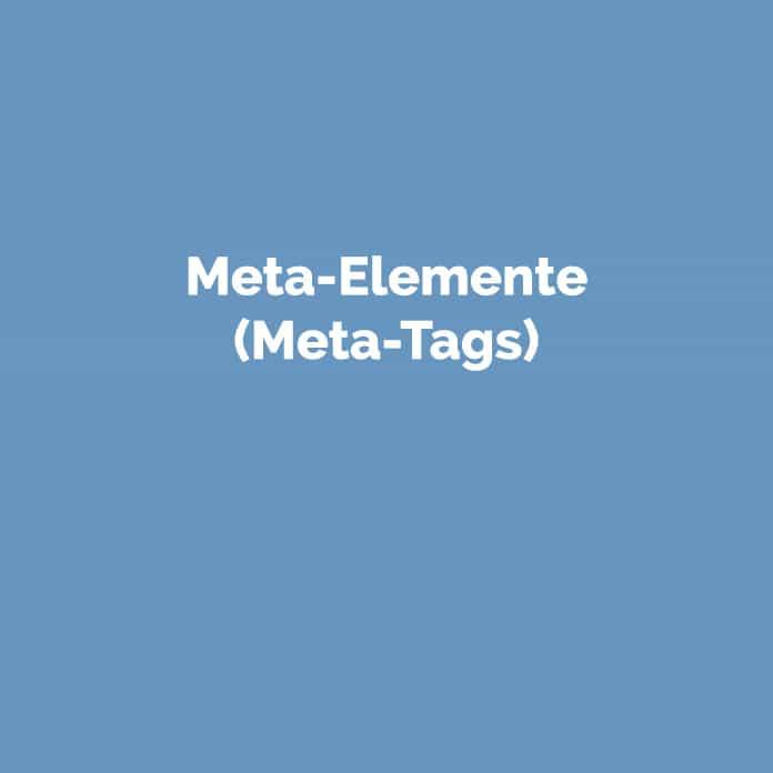 Meta-Elemente (Meta-Tags) | Online Glossar | perfecttraffic.de