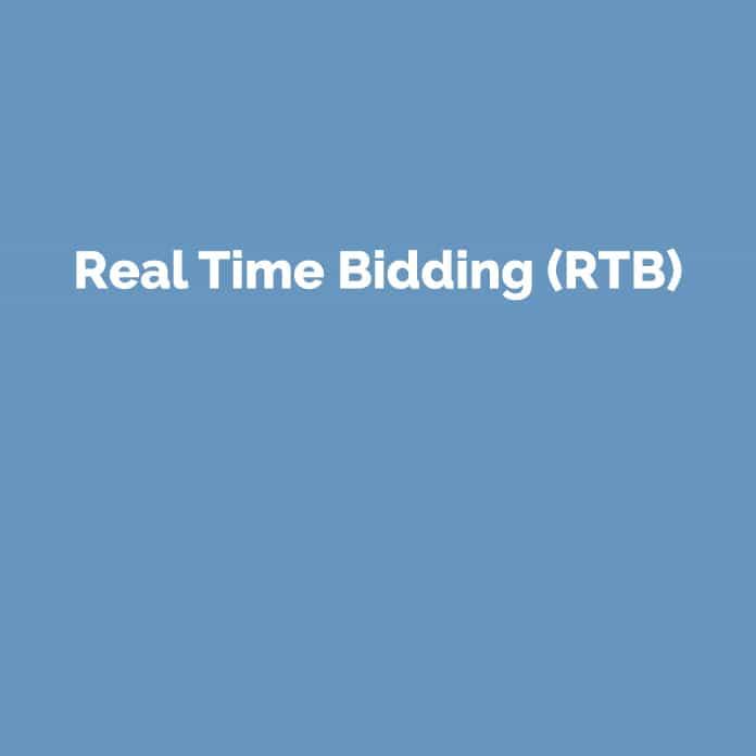 Real Time Bidding | Online Marketing Glossar | perfecttraffic.de