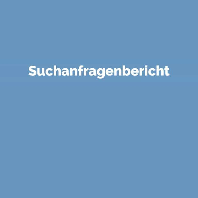 Suchanfragenbericht | Online Marketing Glossar | perfecttraffic.de