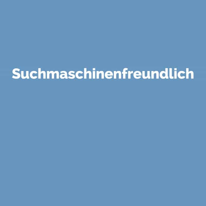 Suchmaschinenfreundlich | Online Glossar | perfecttraffic.de