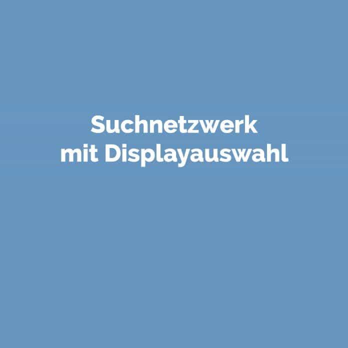 Suchnetzwerk mit Displayauswahl | Glossar | perfecttraffic.de