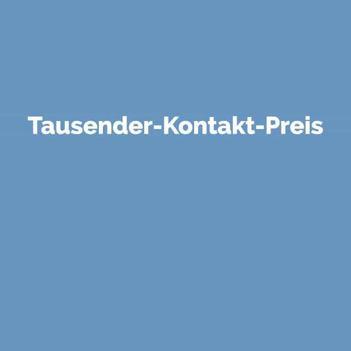 Tausender-Kontakt-Preis | Online Glossar | perfecttraffic.de