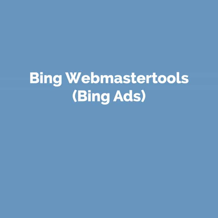 Bing Webmastertools | Online Glossar | perfecttraffic.de