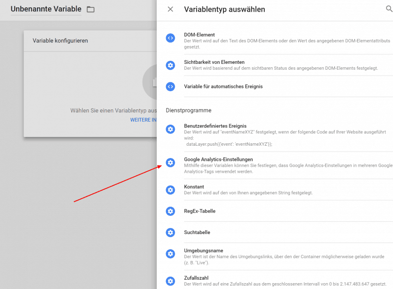 Google Analytics anonymisieren