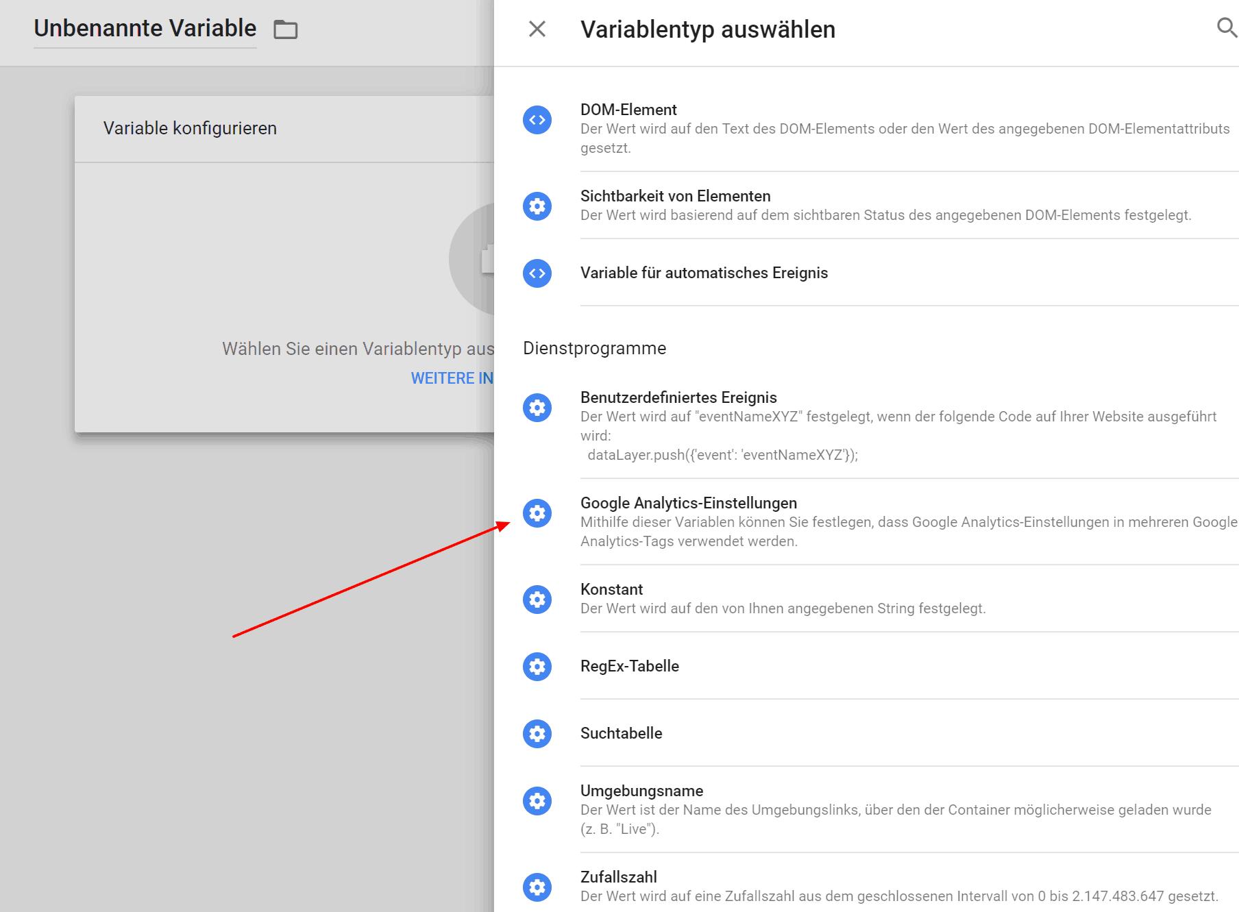 Google Analytics anonymisieren