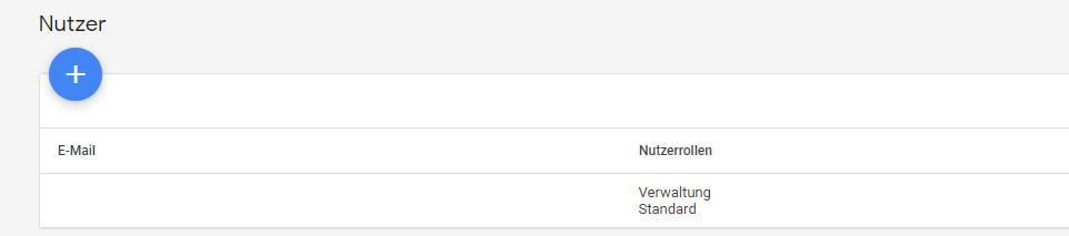 Google Merchant Center Nutzer hinzufügen