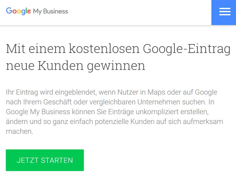 SEO Google My Business