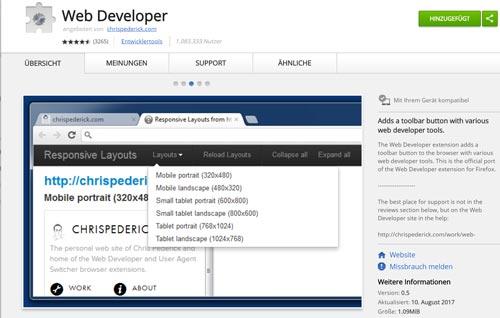 SEO Tools Web Developer