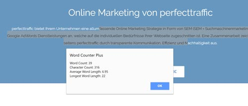 SEO Tools Word Counter Plus
